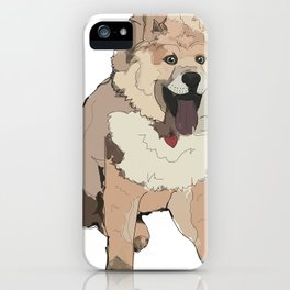 Chow Chow Dog iPhone Case