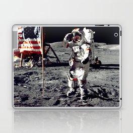 Salute on the Moon Laptop & iPad Skin