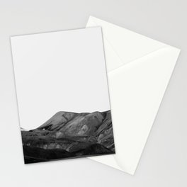 Mountain Range, Minimalist Art, Mountain Stationery Cards