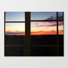 Sunset View Canvas Print