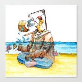 Lazy-Boy Canvas Print