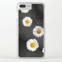 Flowers are a treasure Clear iPhone Case