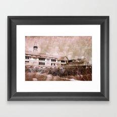 Seaside, capture 14 Framed Art Print