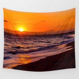 Sunset bc Wall Tapestry