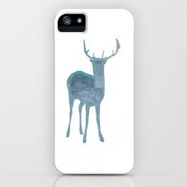 Holiday deer 1- Holidaze iPhone Case