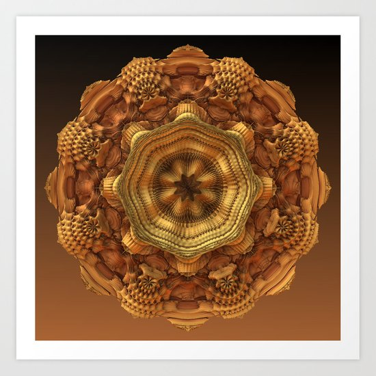 Dried Flower Art Print