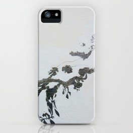 Silver Branch iPhone Case