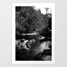 Creek Art Print
