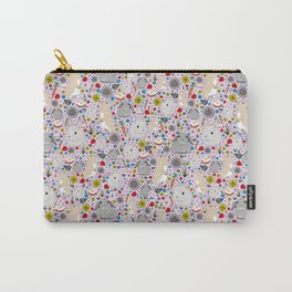 Pretty Bunny Rabbits Carry-All Pouch