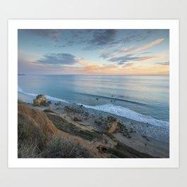 Ocean View from the Beach Art Print