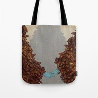 community Tote Bags featuring Community by Rhea Ewing