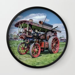 """Showmans Engine """"Lord Nelson"""" Desatuated Wall Clock"""