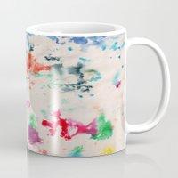 monet Mugs featuring Monet Day by Ryan van Gogh