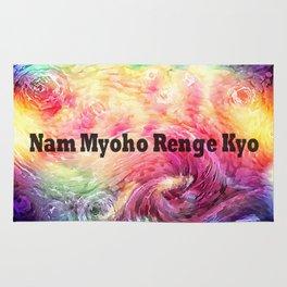 Myoho-renge-kyo Rug