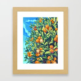 prickly-sweet Framed Art Print
