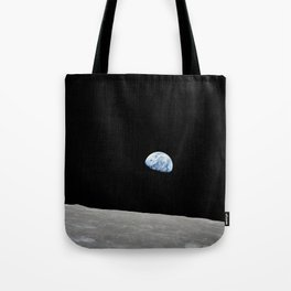 Apollo 8 - Iconic Earthrise Photograph Tote Bag