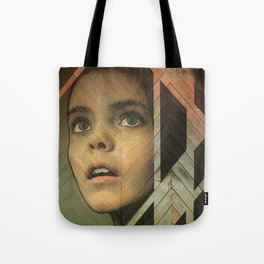 Girl Around Town Tote Bag