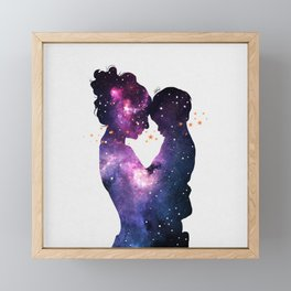 The first love. Framed Mini Art Print