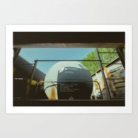 View From The Middle Seat Art Print
