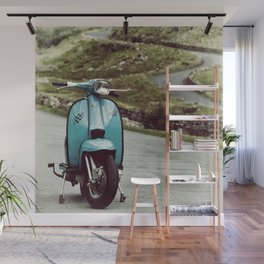 Lambretta Mountain Pass Wall Mural