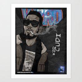 WZRD Cud Art Print