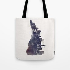 Fox from the City Tote Bag