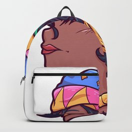 Africa woman girl beauty Mother Backpack