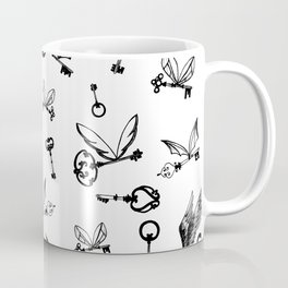 Flying Keys Coffee Mug