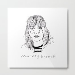 Courtney Barnett Metal Print