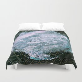 Full Snow Moon Duvet Cover