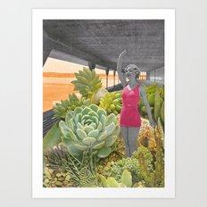 Plantes grasses Art Print