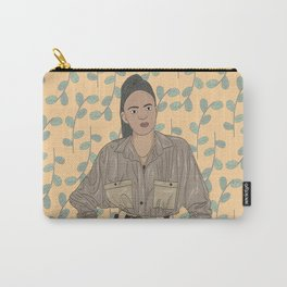 Standing girl (personalised art available) Carry-All Pouch