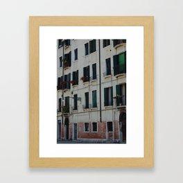 portals .:. venezia Framed Art Print