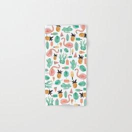 Flamingo Love Hand & Bath Towel
