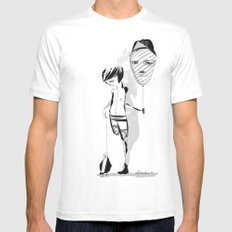 Not everybody can fly (that way) - Emilie R. White MEDIUM Mens Fitted Tee