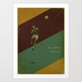 West Ham - Bonds Art Print