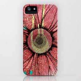 Pink Padgettcovidart Sunflower iPhone Case