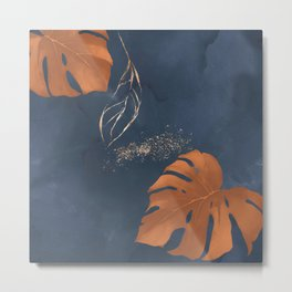 Fall Abstract II Metal Print