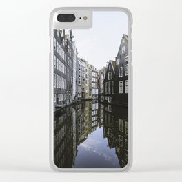 Waterways of Amsterdam Clear iPhone Case