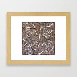 Land_Spirits#7_GeoffSellman Framed Art Print