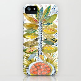Turtle nest by the Tree iPhone Case