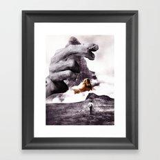 Apron Strings Framed Art Print