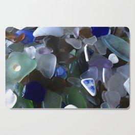 Sea Glass Assortment 4 Cutting Board