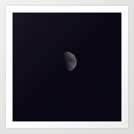 Half-Moon Art Print