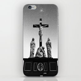 Cemetery sculptures iPhone Skin