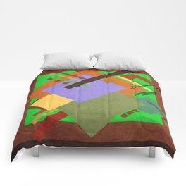 Geometric illustration 43 Comforters