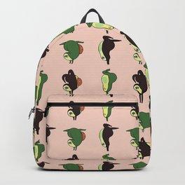 Handstand Avocado Backpack