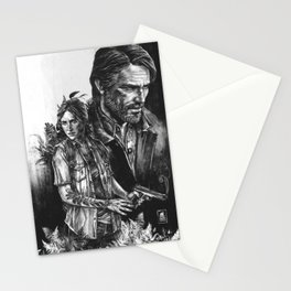 The Last Of Us Part II - Ellie and Joel Stationery Cards