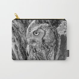 Echo the Screech Owl by Teresa Thompson Carry-All Pouch