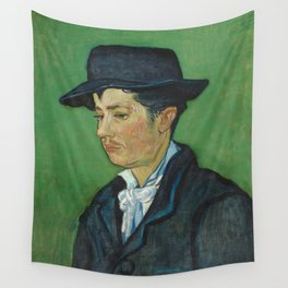 Portrait of Armand Roulin by Vincent van Gogh Wall Tapestry